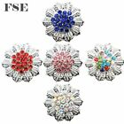 Kyпить Multi Color Rhinestone Flower 18mm Snap Button Snap Charms 20mm Snap Jewelry 006 на еВаy.соm