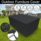 Extra Large Waterproof Rain Garden Patio Outdoor Furniture Cover Rattan Table Uk