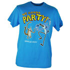 Cartoon Network Regular Show Comedy TV We Gonna Party Blue Tshirt Tee