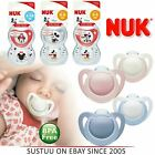 NUK Genius Silicone Newborn Baby Soothers Dummy Pacifier 0-6 & 6-18m
