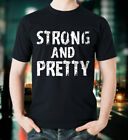 USA Cool Tee - Strong and Pretty Funny Strongman Workout Gym Gift T-Shirt S-6XL