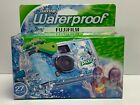 FujiFilm Quicksnap Waterproof Disposable Camera 27 Exposures Expires 2021 NEW