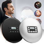 HIFI Portable CD Player Stereo Electric Acoustic Round Headphone Jack Music
