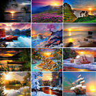 DIY Sunset Scenery Paint By Number Kit Digital Oil Painting On Canvas Home Decor