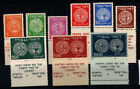 Israel 1948 Mi. 1-9 MNH 100% old coins, culture