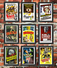 Vintage High Quality FRAMED Retro Classic Horror B Movie Monster Film Posters