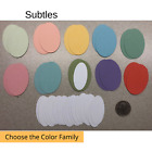 40 Stampin Up Tool Paper Cardstock Oval Punch Shape Die Cut Tags