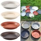Round Strong Plastic Plant Pot Saucer Base Water Drip Tray Saucers Multi-size