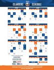 NHL New York Islanders 2019 Hockey Schedule Poster 12x18 or 24x36 or 27x40 $9.99 USD on eBay