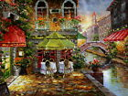 """Beautiful Venice Oil Painting Giclee Art Printed on canva 12""""x16"""" L081"""