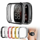 US Protective Case TPU Anti-fall Cover Screen Protector For Fitbit Versa 2 Watch