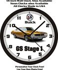 1970 BUICK GS STAGE 1 WALL CLOCK-FREE USA SHIP!
