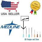 Kyпить Medline Needles Box 50 or 100 All Size Gauges - Blunt Luer Lock No Syringe на еВаy.соm