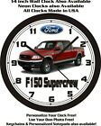 2001 FORD F150 SUPERCREW PICKUP TRUCK WALL CLOCK-FREE USA SHIP!