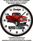 1959 DODGE POWER WAGON WALL CLOCK-FREE USA SHIP!-Choose 1 of 2