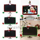 Christmas Computer Laptop Lcd Screen Monitor Decorating Cover For 19-27