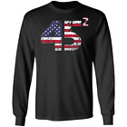 Trump 45 Squared 2020 Second Presidential Term Ultra Cotton Long Sleeve Shirt