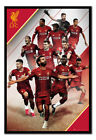 Liverpool FC 2019 - 2020 Season Players Poster FRAMED CORK PIN BOARD With Pins