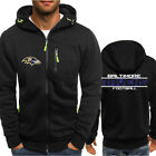Baltimore Ravens Hoodie Men Sweatshirt Football Training Hooded Jacket Fans Coat $23.74 USD on eBay