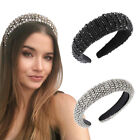 Baroque Women's Embellished Headband Jewelled Hairband Tiara Crown Wedding Party