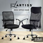 Artiss Office Chair Gaming Computer Chairs Mesh Back Foam Seat Black Work Study