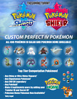 Kyпить Pokemon Sword and Shield | Custom Perfect IV Pokemon на еВаy.соm