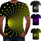 Funny Hypnosis 3D T-Shirt Men Women Graphic Casual Fashion Short Sleeve Tee Tops image