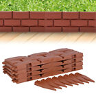 4 8 12 Garden Lawn Grass Edging Picket Fenceing Border Path Panel Plastic Wall