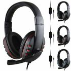 Gaming Headset Wired Over the Ear Headphones Stereo with Mic for PS4/XBOX-ONE/PC