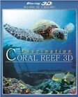 FASCINATION CORAL REEF New Sealed Blu-ray 3D + Blu-ray
