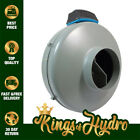 RAM Inline Duct Exhaust Extraction Fan Hydroponics with UK Plug