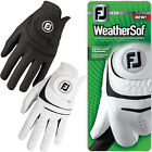 FootJoy Mens Weathersof Golf Gloves Left Hand (Right Handed Golfer) 1 Pack