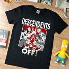 NEW rare - T shirt - DESCENDENTS + OFF! - black -USAsize - limmited edition image