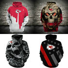 2020 New Hoodies Kansas City Chiefs Hooded Pullover 3D Print Sweatshirts Jacket $29.44 USD on eBay