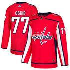77 TJ Oshie Jersey Washington Capitals Home Adidas Authentic