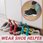 1 pair Wear Shoe Horn Helper Shoehorn Shoe Easy on and off Shoe Sturdy Slip-Aid