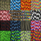 Paracord Planet 550 Paracord Multicolored Styles - 100 Foot Hanks - USA Made