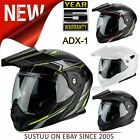 Scorpion ADX-1 Flip-Up Motorcycle Unisex Helmet│ECE 22-05│Dual Density│All Sizes