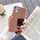 Simple Line Mirror Soft Phone Case Cover For iPhone 11 Pro Max X XR Xs 7 8 Plus