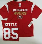 YOUTH Kids Boys San Francisco 49ers GEORGE KITTLE Football JERSEY New $19.99 USD on eBay