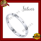 stainless steel jewelry stars bangle bracelet valentines day gift for him/her