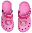 Peppa Pig Girls Beach Sandals - Light Pink / Dark Pink - Choose Size & Colour