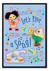 Moon and Me Let's Play A Song Poster FRAMED CORK PIN BOARD With Pins | UK Seller