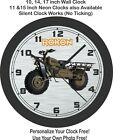 Rokon Motor-Tractor Motorcycle Wall Clock-Free US Ship-Ural, Triumph $55.99 USD on eBay