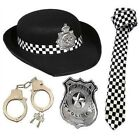 Mens Ladies Policeman Policewoman WPC Cop Fancy Dress Costume Stag Hen Role Play
