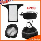 4PCS Mobility Scooter Control Panel Tiller Cover+Front Basket Bag Liner & Cover
