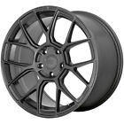 "4-Motegi MR147 CM7 18x8.5 5x4.5"" +35mm Gunmetal Wheels Rims 18"" Inch $1000.68 CAD on eBay"