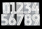2019 2020 OFFICIAL ELMS MARKETING EFL WHITE BLACK DOT NUMBERS 230mm =PLAYER SIZEEnglish Clubs - 106485