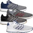 adidas 2020 S2G Mens Waterproof Spikeless Lightweight Golf Shoes - Medium Fit