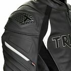 TRIUMPH LEATHER TRIPLE MOTORCYCLE JACKET MLPS20530 ALL SIZES €489.33 EUR on eBay